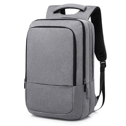 Рюкзак вместительный для ноутбука 15,6 КАКА 17009 серый