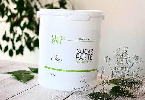 Сахарная паста для шугаринга YUSKISS 3,5кг (ULTRA SOFT)