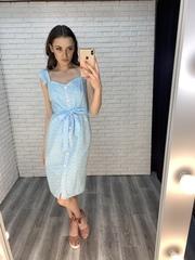 платье с пуговицами по всей длине купить