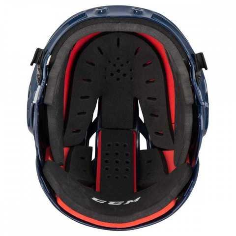 Шлем с маской CCM 50 XS розовый
