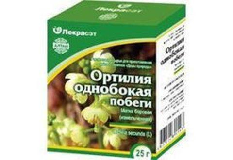 Ортилия однобокая (Боровая матка) трава 50 г.