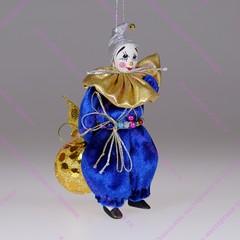 Ёлочная игрушка Гном с шариком