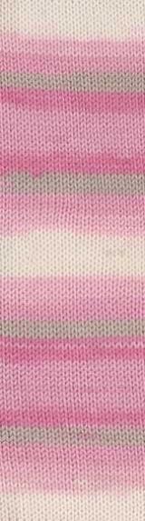 Пряжа Alize Baby Wool Batik роз-сер-бел 4397