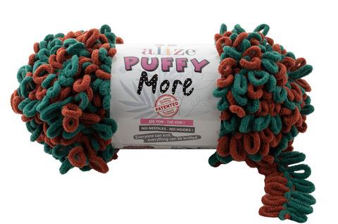 Пряжа Alize Puffy More цвет 6294