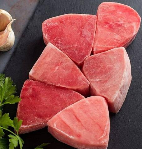 Стейки тунца свежемороженые 1 кг (упак)