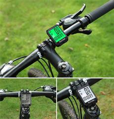 Велокомпьютер проводной West Biking кнопочный - 2