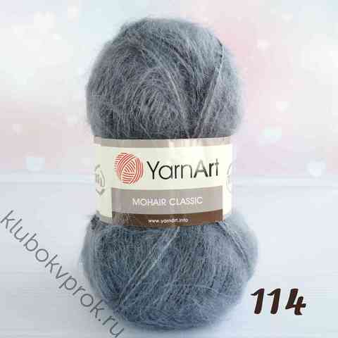 YARNART MOHAIR CLASSIC 114,