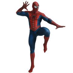 Паутинный костюм Человека-паука из спандекса Deluxe