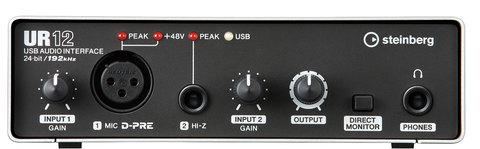 Steinberg UR12 Аудиоинтерфейс