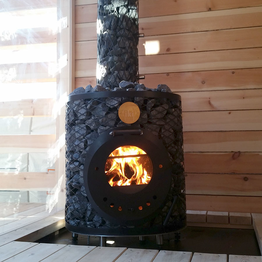 Печь для сауны IKI Mini, фото 4
