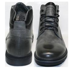 Серые мужские ботинки Ikoc 3620-3 S