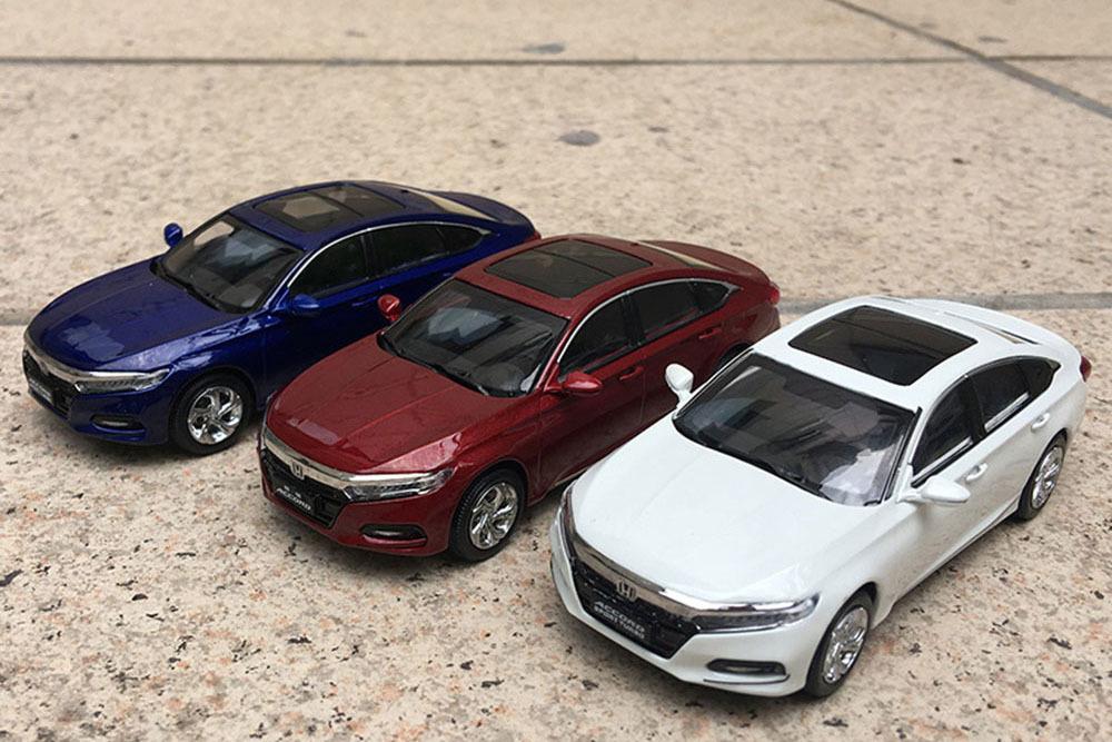Коллекционная модель HONDA ACCORD 10 2019 RED