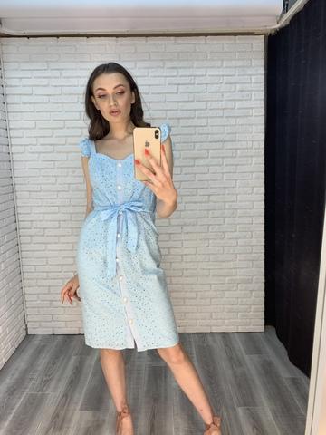 платье с пуговицами по всей длине недорого