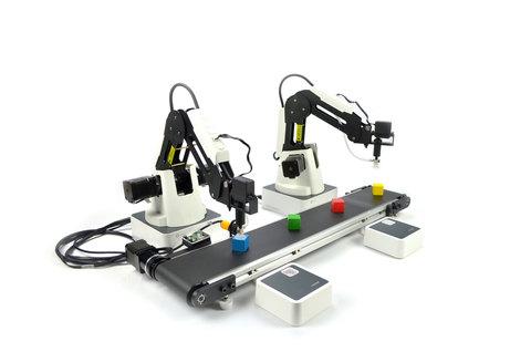 Образовательная ячейка на базе модели учебного манипулятора DOBOT