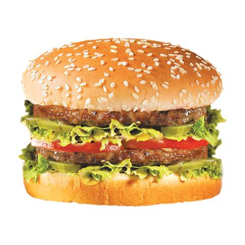 Двойной (Double) бургер с говядиной (классический соус)