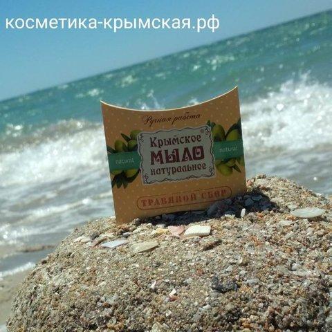 Натуральное крымское мыло «Травяной сбор» ™Мануфактура Дом Природы