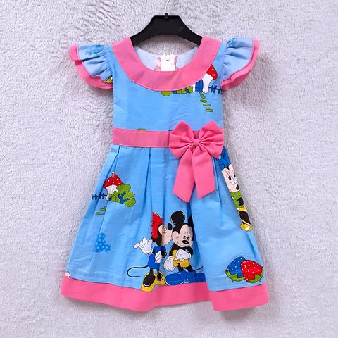 Платье хлопок девочке (2-6) 210302-OF7579