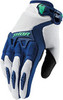 Мотоперчатки - THOR SPECTRUM (женские, ментолово-синие)