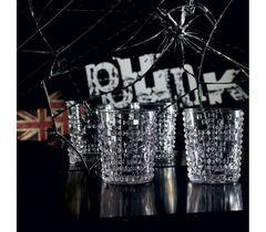 Набор из 4 хрустальных стаканов для виски Punk, 348 мл, фото 1