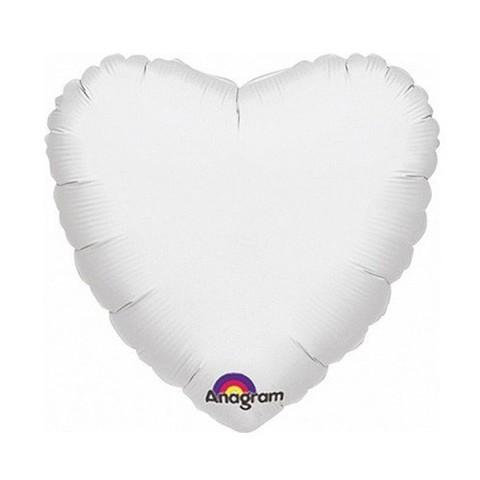 Сердце Пастель, Белый (46 см)