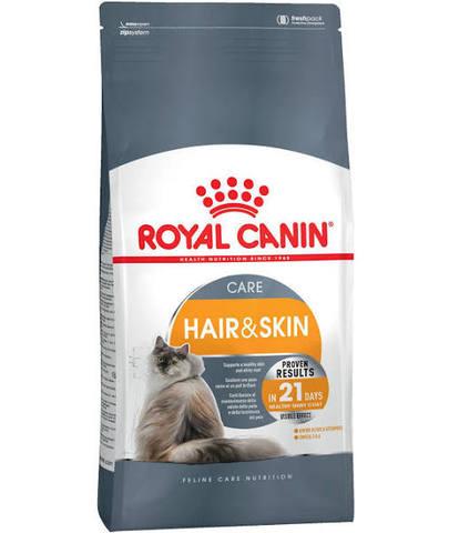 Royal Canin Hair&Skin для здоровья кожи и шерсти 2 кг