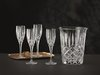 NOBLESSE - Набор 5 предметов: ведро для шампанского/вина 22,5 см, d18 см + 4 фужера для шампанского 160 мл
