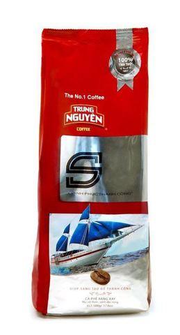 Молотый кофе Trung Nguyen S, смесь 4-х сортов. Коробка 80х500 гр.