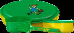 Набор туристической посуды детский Primus Meal Set Pippi Green