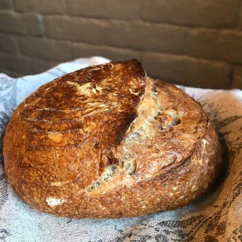 Хлеб с грецким орехом