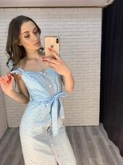 платье с пуговицами по всей длине интернет магазин