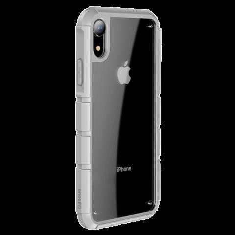Чехол Baseus для iPhone XR серия Panzer | серый