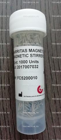 FC5200010 Магнитные возбудители (перемешивающие стержни) для Clot, AutoClot (уп 1000шт) Magnetic stierrers /RAL Tecnica para el Laboratorio, s.a., Испания/