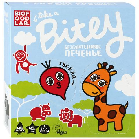 Печенье Bitey Свекла б/глют 125г Vegan