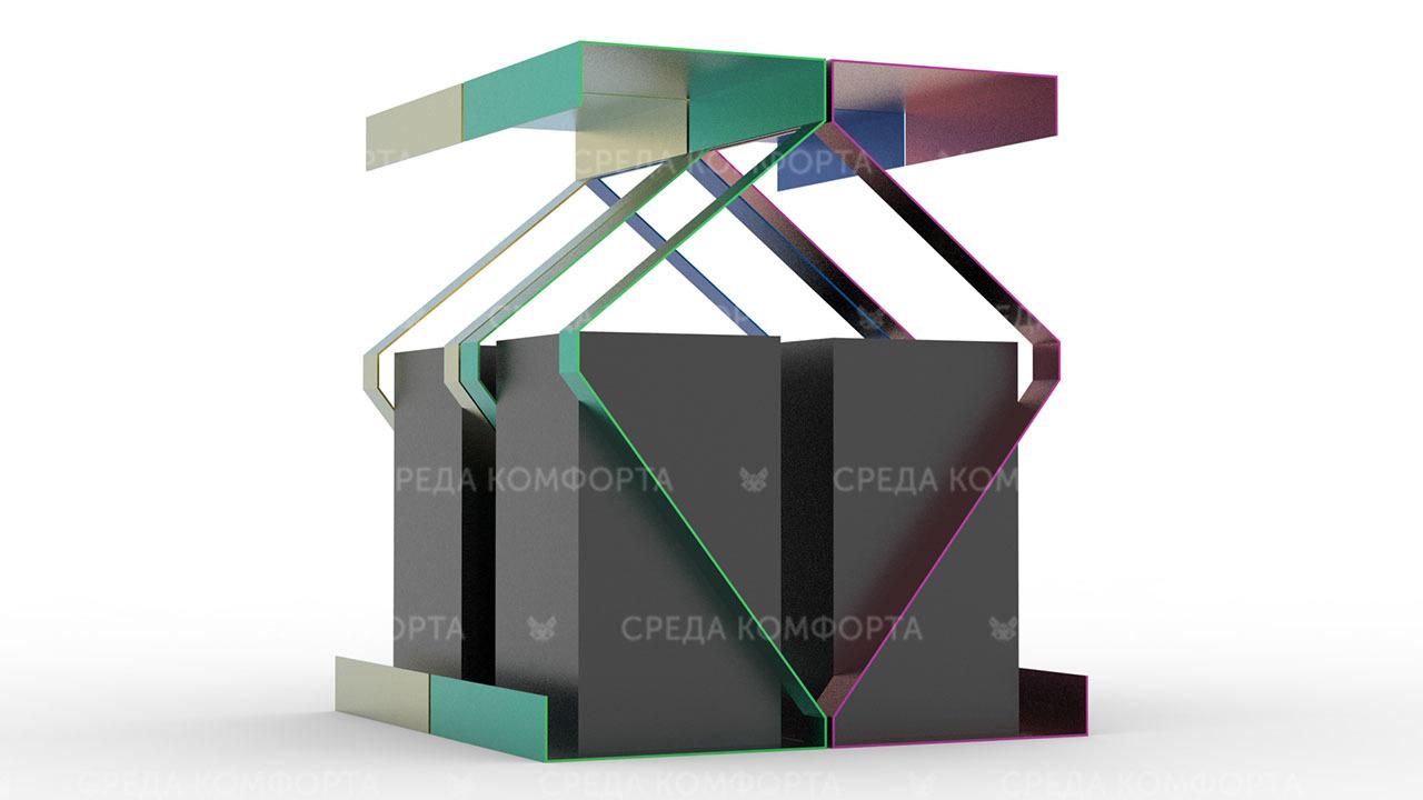 Урна для раздельного сбора мусора URN0152