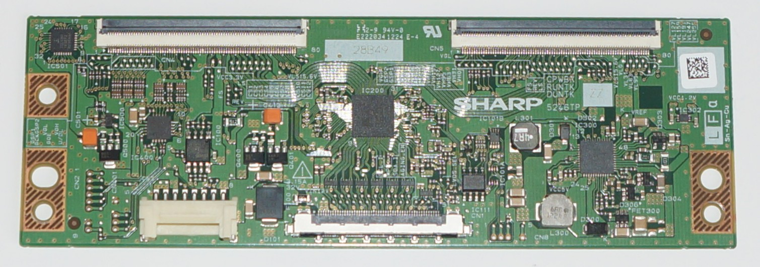 CPWBX RUNTK DUNTK 5246TP ZZ  t-con телевизора Sharp, LG