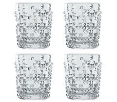 Набор из 4 хрустальных стаканов для виски Punk, 348 мл, фото 2