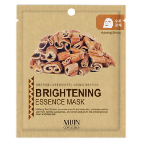 Листовая маска Mijin Care Brightening Essence Mask