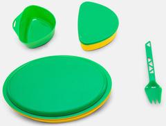 Набор туристической посуды детский Primus Meal Set Pippi Green - 2