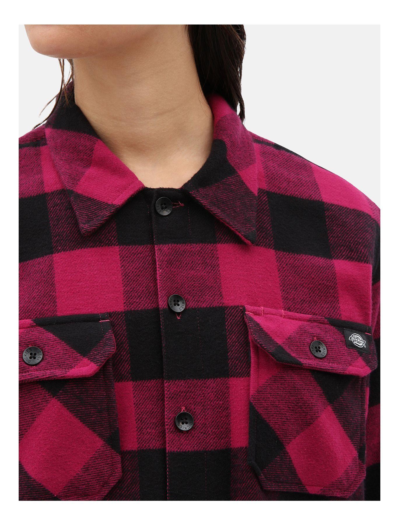 Рубашка DICKIES Sacramento (Pink Berry)