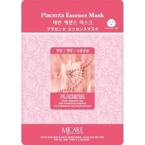Маска тканевая плацентарная Mijin Cosmetics Placenta Essence Mask