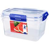 Набор контейнеров Klip It+ 3,35 л,  2 шт, артикул 881832, производитель - Sistema