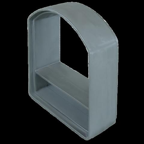 Удлинитель портала печи Гефест ЗК 25П/3К 30П/ЗК 45М/Гром 30П - 100мм