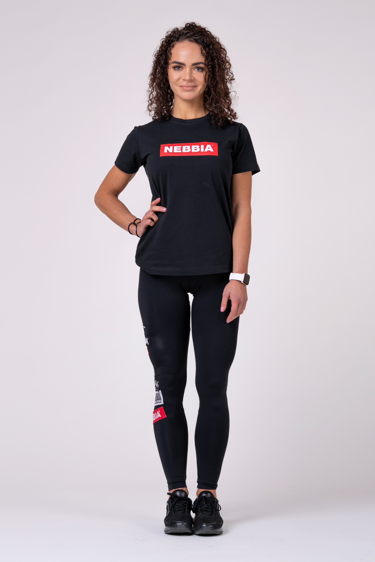 Женская футболка Nebbia Women`s T-Shirt 592 Black