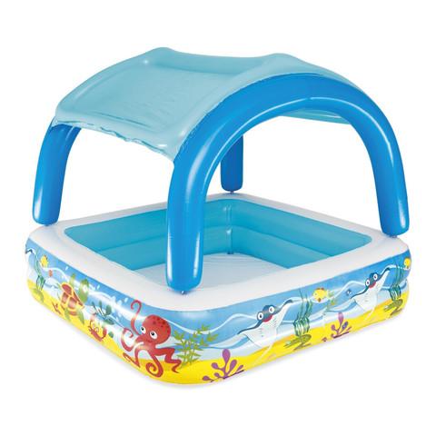 Детский надувной бассейн Bestway 52192 (140х140х114 см) / 18184