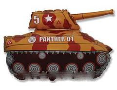 """Фигура """"Военный танк"""" (цвет)"""