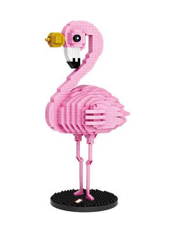 Конструктор LOZ Королевский фламинго 730 деталей NO. 9205 Royal flamingo iBlockFun Series