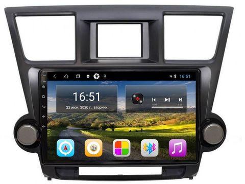 Магнитола Toyota Highlander (08-13) Android 11 2/16GB IPS  модель CB3011T3 K