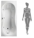 Гидромассажная система и массаж спины N4