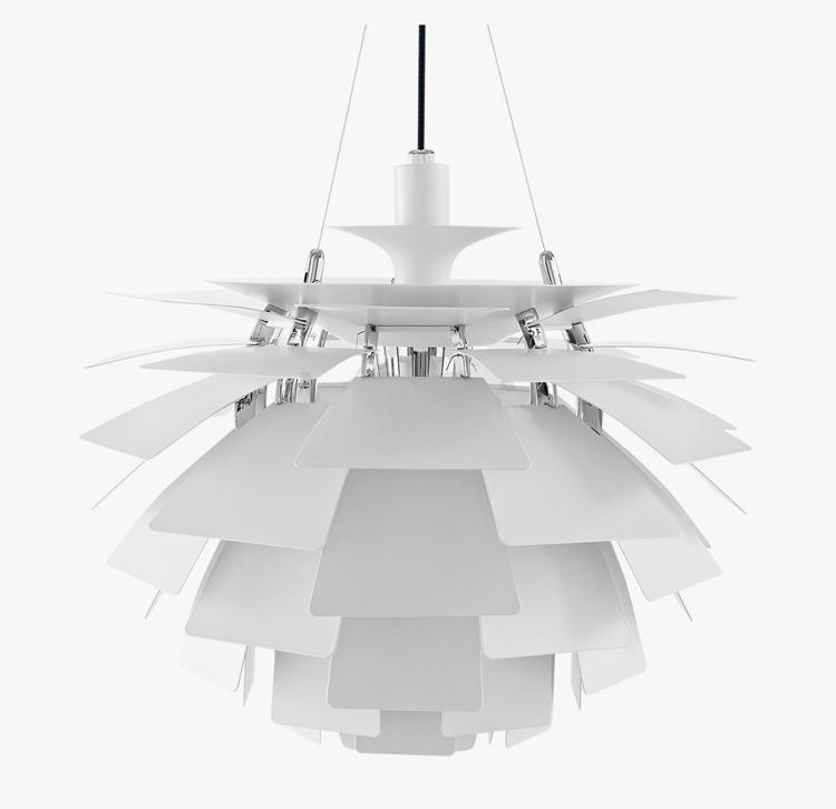 Подвесной светильник PH Artichok by Louis Poulse D40 (серебряный)