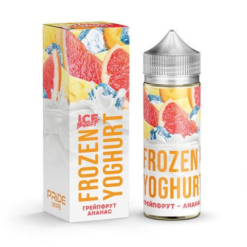 Жидкость Frozen Yoghurt Ice Boost 120 мл Грейпфрут Ананас